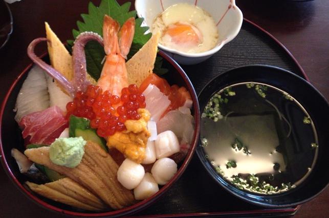 光本海鮮丼